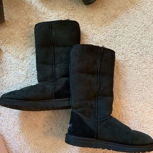 Tall Black UGGs